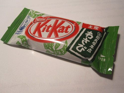 Wasabi Kit Kat