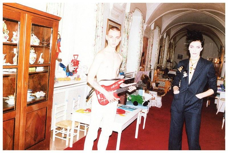 Yuri Pleskun in Self Service magazine, 2009