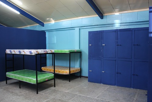 Bunks and Lockers