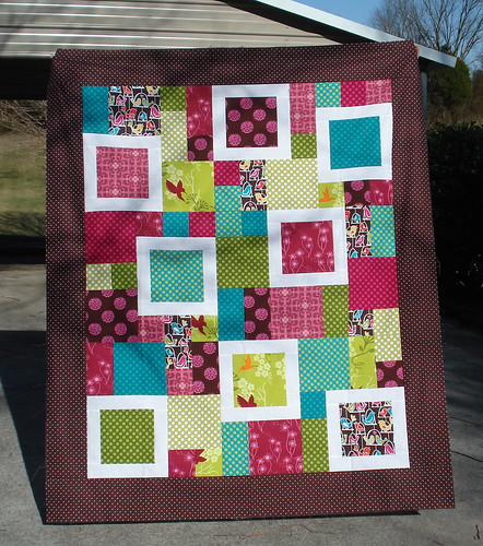 Perfect 10 quilt top