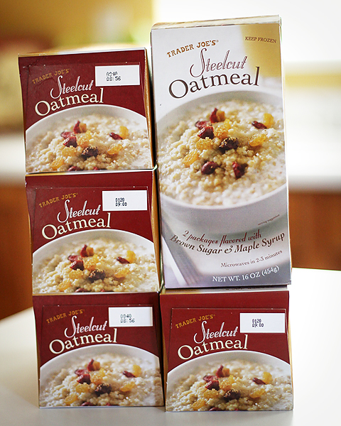 trader joes oatmeal yum rs