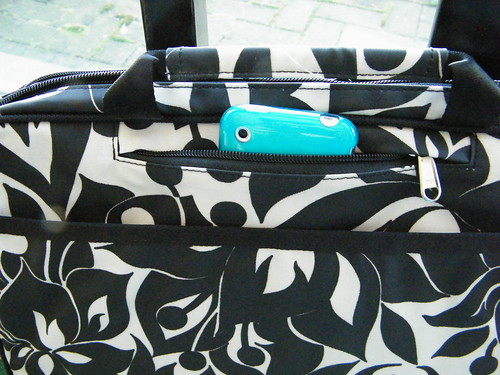 Echo Laptop Bag from Lexie Barnes - Secret Pocket (shhh ...)