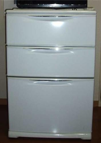 Sanyo 4 STARS Fridge: fridge, chiller and freeze. Y40,000