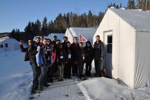 Takhini Hot Springs Cabins: Group shot