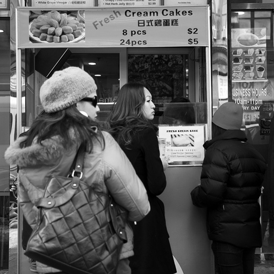 Cream Cakes, Chinatown