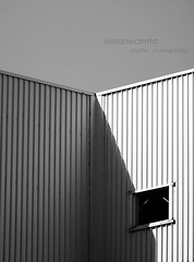 Optical Effect (simone|cento) Tags: urban bw monochrome lines optical effect minimalist opticaleffect
