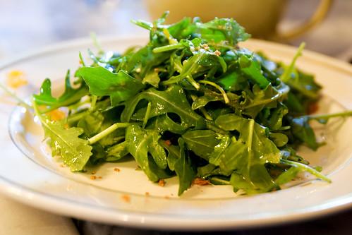 arugula salad of some sort