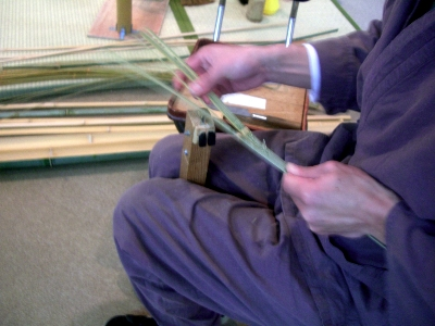 第3回北区の伝統文化と職人さん展 かわい提灯舗 製作実演