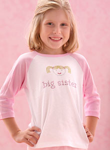 just jen big sister shirt