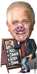 Glenn Beck, Piggish?