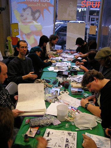 Cam-Jam 2010 #1 - Artists at Work