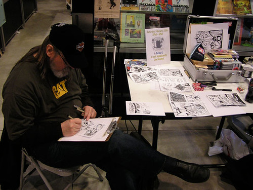 Cam-Jam 2010 #1 - Artist at Work