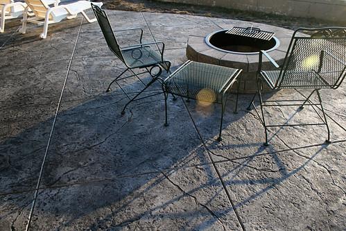 charcoal concrete floor flickriver photoset bohannon job seamless stamped concrete