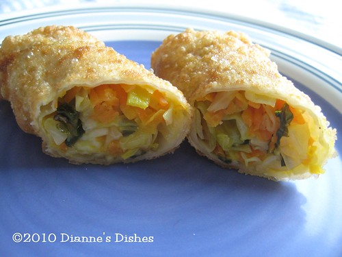 Egg Rolls: Inside of the Fried Egg Roll