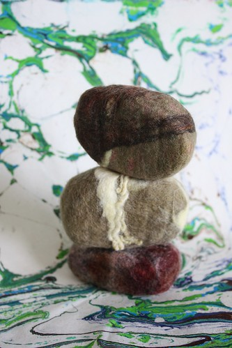 Felted Soap Rocks
