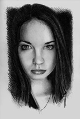 drawing epicantus, finished (rafanav) Tags: portrait art pencil drawing lapiz navarro rafa dibujo matita bleistift