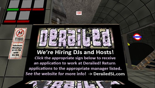 derailed noize club in second life