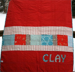 Clay's Quilt Back