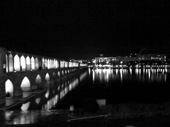 Night Shot [01] (Pat.Riot) Tags: bridge isfahan zayanderood siosepol 33pol zayandehrood