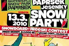 Skateshop.cz snowpark Paprsek - slavnostní otevření