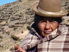 'Cholitas' are easy to identify in the streets of La Paz, Bolivia's capital city