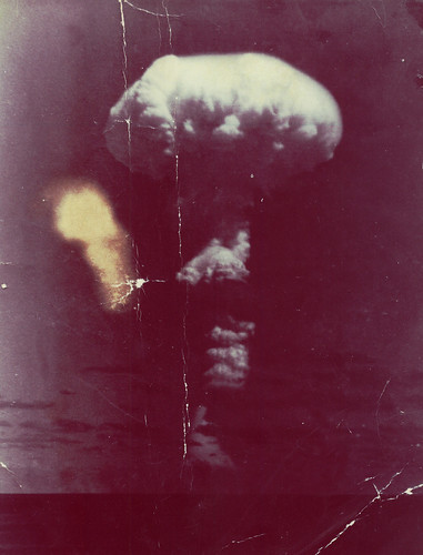 Atom Bomb Test, 1950s.