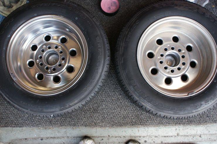 1 billet wheel done 3 to go