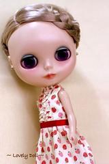 Stawberry Little dress
