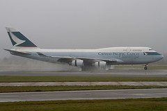 B-HOU - 24925 - Cathay Pacific Airways Cargo - Boeing 747-467 BCF - Manchester - 081126 - Steven Gray - IMG_2567