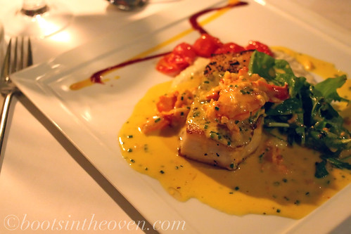An Amazing Bass and Lobster Dish