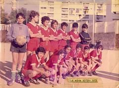 OM medea minimes 1975 (m_bachir-   -) Tags: boys club foot algeria football 1975 algerie om medea