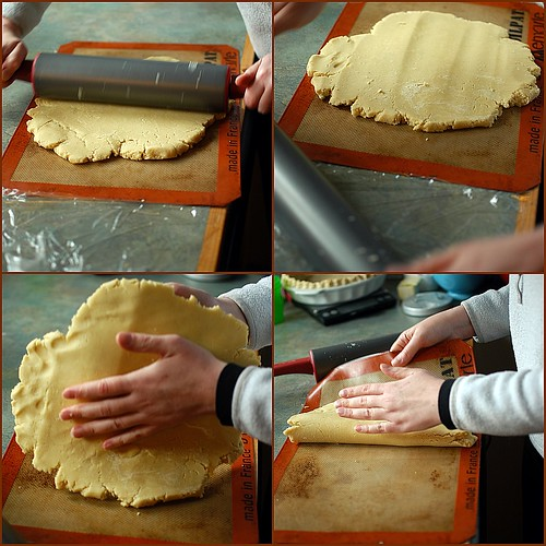 Helen rolls out the gluten-free puff pastry