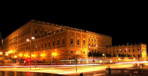 Kungliga Slottet At Night