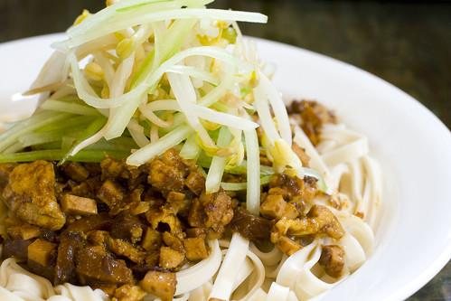 Vegetarian Za Jiang Mein