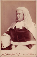 Photograph of Justice Chitty (Law Society of Upper Canada Archives) Tags: portrait britain judge law wigs robes