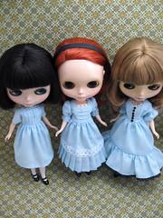 Alice dresses