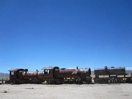 The Great Train Graveyard