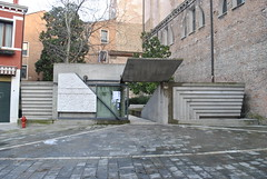 Scarpa entrance to architecture university