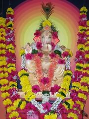 Krishna  avatar Ganapati (Rajendra Mane) Tags: home ganapati my