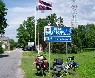 077 Grenze Estland-Lettland