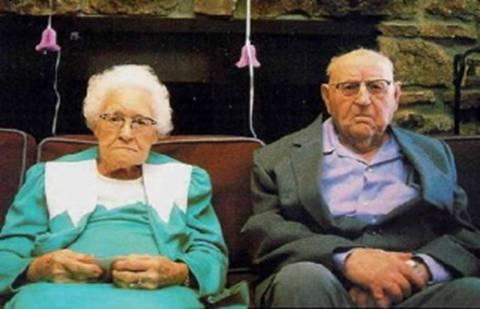 從不爭吵的老夫妻