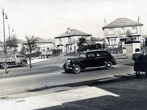 Carntyne Square, 1950