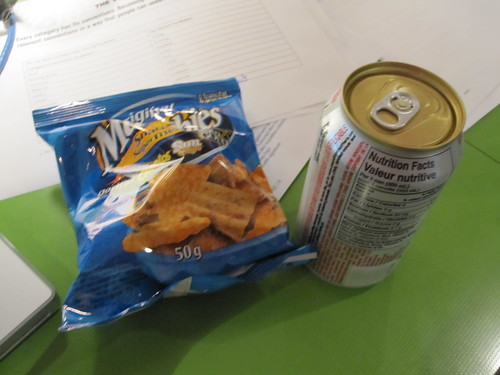 chips and soda $2.50