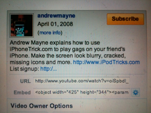 Andrew Mayne YouTube video description