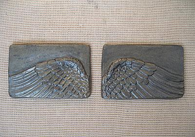 ANGEL WINGS WALL ART SCULPTURE PLAQUE HOME DECOR SET www.NEO-MFG.com