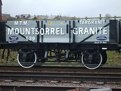 Third restored replica Mountsorrel Granite wagon