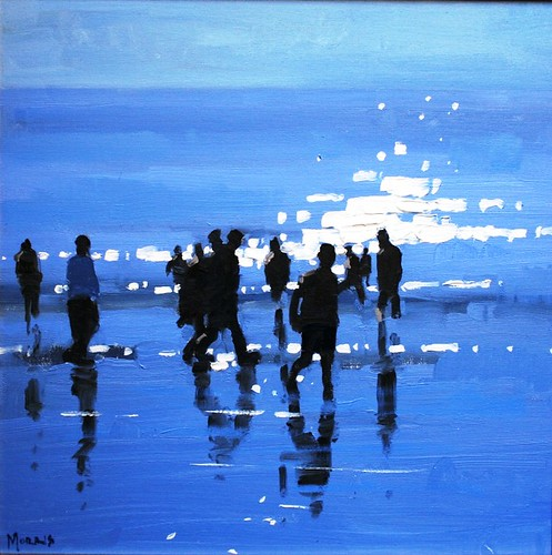 Seascape painting by British Artist John Morris