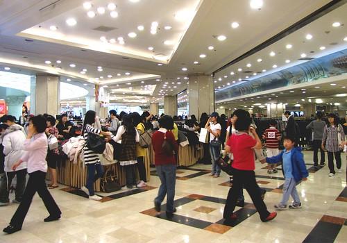 Korea Trip - Subway Mall 1