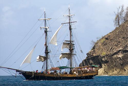 Unicorn Tall Ship Cruise, St. Lucia, Caribbean