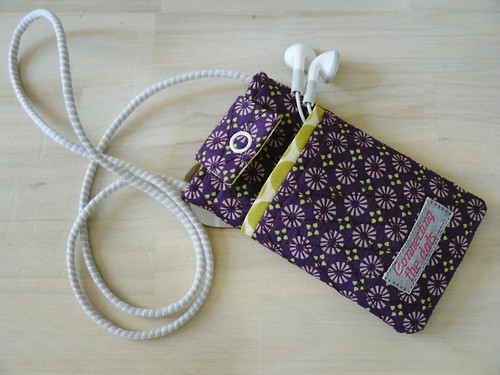 iPod Touch Pouch with neckstrap